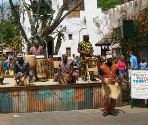 African Dance Party at Disney World's Animal Kingdom, Florida, April 2013