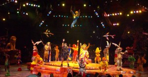 The Lion King Show at Disney World's Animal Kingdom, Florida, April 2013