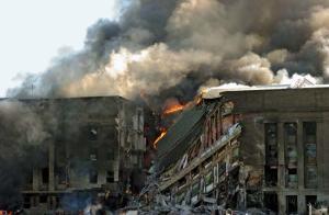 Pentagon Burning on 9/11 (6)