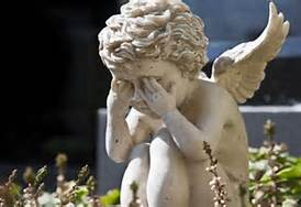 Child Angel Statue Crying (Retrieved from http://www.watchmanscry.com/article-get-your%20house-in-order.html, January 11, 2014)