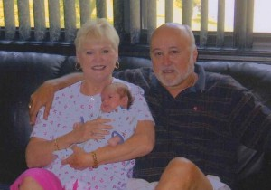 Bob and Marilyn Nice, and Baby Nice, Snellville, Georgia, 2003