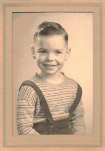 Bruce Babcock as a Child