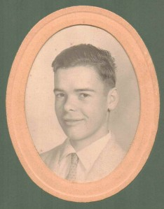Bruce Babcock as a Young Man