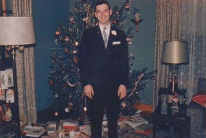 Bruce Babcock, Collins, New York, Christmas 1960