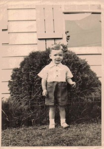 Bruce Babcock on his Second Birthday, Collins, NY, August 1945