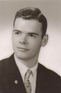 Bruce Babcock Senior High School Photo, Gowanda, New York, 1960
