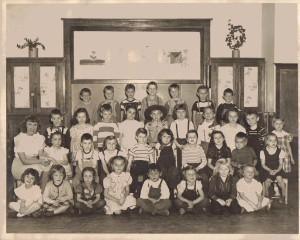Collins, New York School Kindergarten and 1st Grades, 1949-1950
