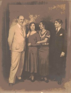 Dr. Clarence Carter Nice and Friends, Circa 1930s