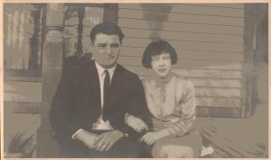 George Heppel and Louise (Babcock) Heppel, Circa 1930s-1940s, Collins, New York