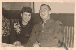 Henry Curtis and Beth, May 1943