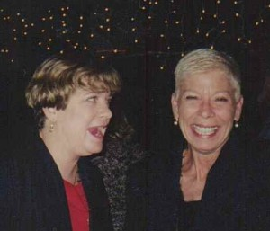 Janet (Greene) Nice Hebson (and later, Adams) with Penny Nice, Jacksonville, Florida, Christmas 2001