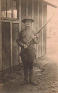 John Briggs, North Collins, NY, Soldier in World War I, Circa 1917