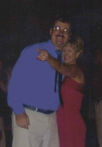 John Nice, Jr. Dancing with Rachel (Martin) Hunter, Jacksonville, Florida, Summer 2002