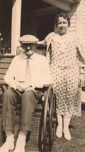 Louise (Babcock) Heppel and Jonathan Babcock, Collins, NY,  August 29, 1932