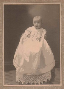 Louise Babcock (Married Name-Heppel), Sister of Charles A. Babcock, Collins, NY, Circa 1910