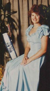 Michele Babcock, Miss Teen of NY Personal Development Award Recipient, 1987
