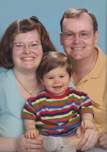 Michele Babcock-Nice, John Nice, Jr., and Son, Buford, Georgia, 2004