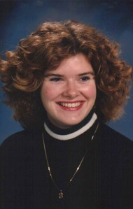 Michele Babcock, University at Buffalo Senior Portrait, 1992