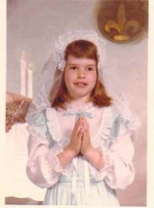 Michele E. Babcock, First Communion, Gowanda, NY, 1978