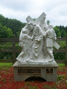 Station of the Cross, St. Andrew's Church, Roswell, Georgia, May 2010