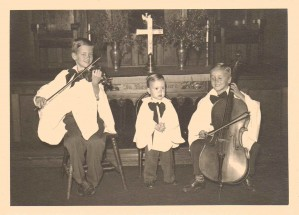 The Nice Boys-Carter, Jimmy, and Bob, Florida, Circa 1948