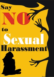 Say NO to Sexual Harassment Image (Retrieved on May 31, 2014 from http://anujamishraa.blogspot.com/2012/09/break-your-silence.html)